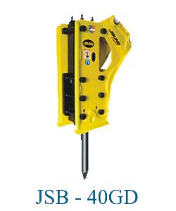 Búa Đập Đá Thủy Lực JSB-40GD